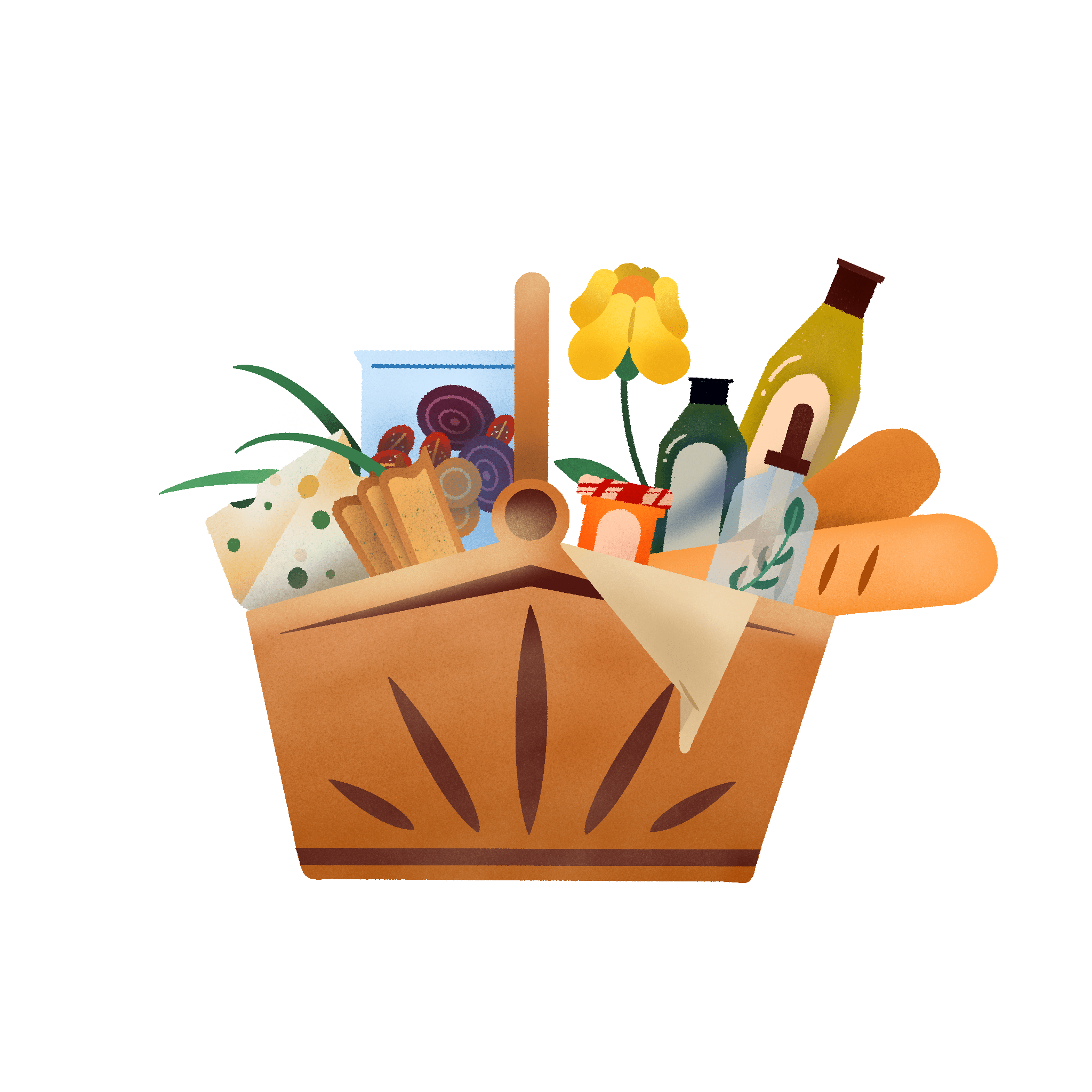 Plant Cheese Hamper